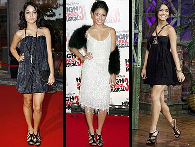 Vanessa Hudgens in Jimmy Choo High HEELS