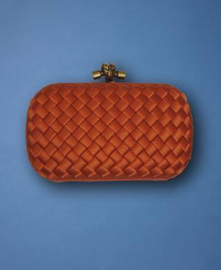 the-orange-silk-woven-box-clutch
