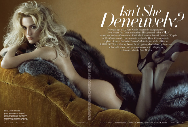 """Isn't She Deneuvely."" Photograph by Steven Meisel; styled by Jessica Diehl."