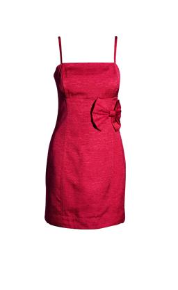 red-party-dress