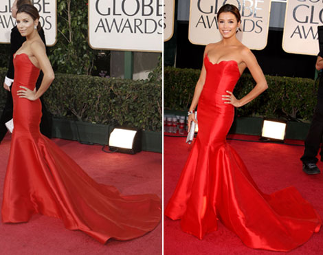 eva-longoria-golden-globe-awards-2009-reem-acra-dress