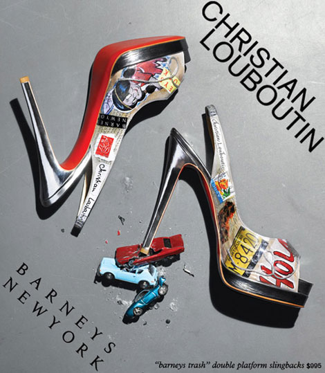christian-louboutin-barneys-trash-shoes