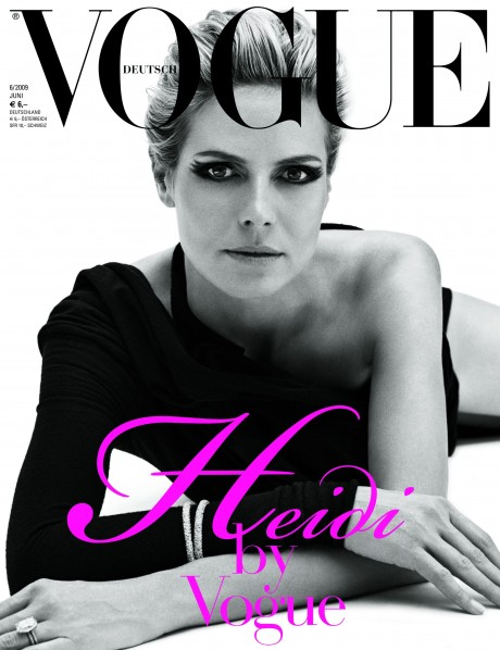 heidi klum vogue germany