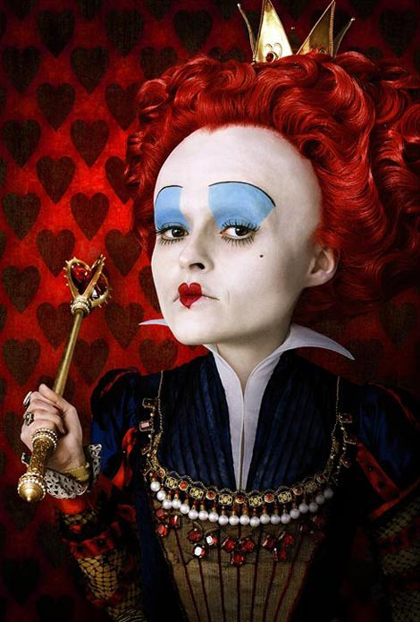 helena bonham carter red queen wonderland