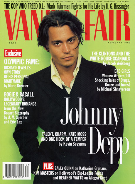 johnny depp february 1997 cover