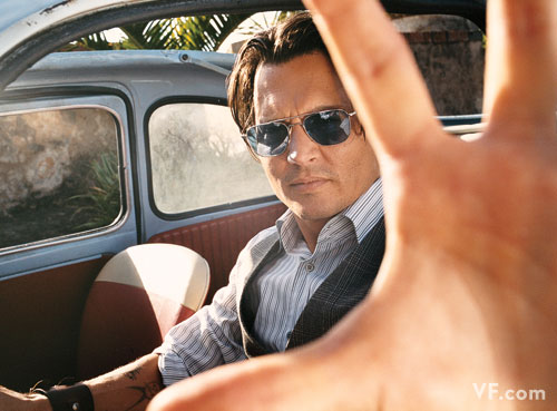 johnny depp vanity fair july 2009 5