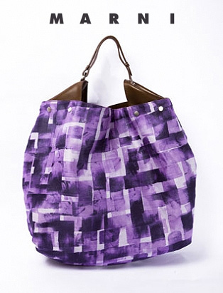 Marni- purple organza