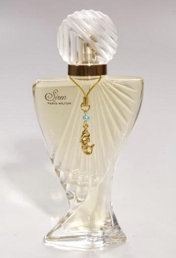 siren perfume paris hilton bottle