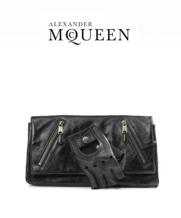 Alexander McQueen's Glove Clutch