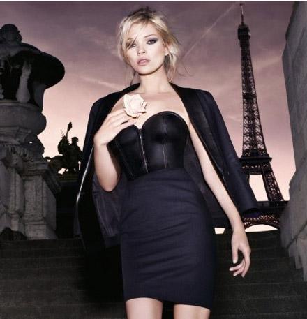 kate moss YSL parisienne
