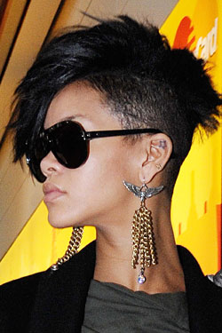 rihanna new hair cut