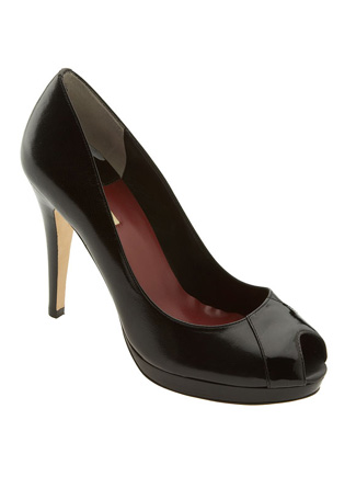 Max Studio Xecutive Peep-Toe Pump
