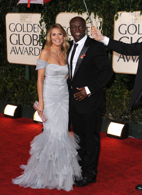 heidi klum kids say the funniest things. heidi klum and seal photo