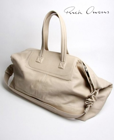 Rick owens weekend bag