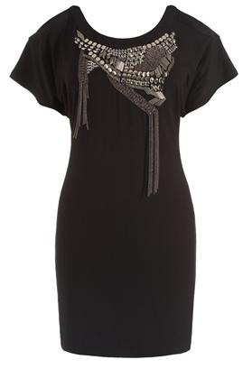 stud and chain dress lipsy