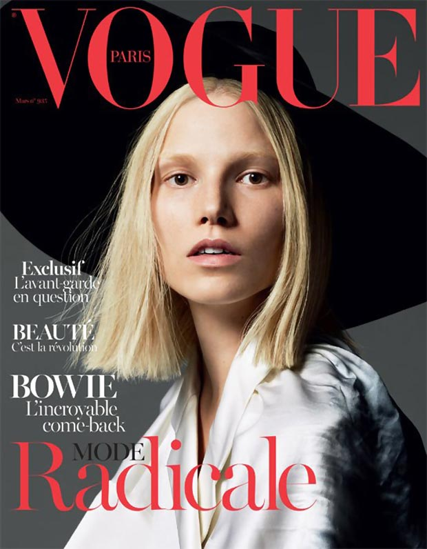 Suvi Koponen Covers Vogue Paris March 2013