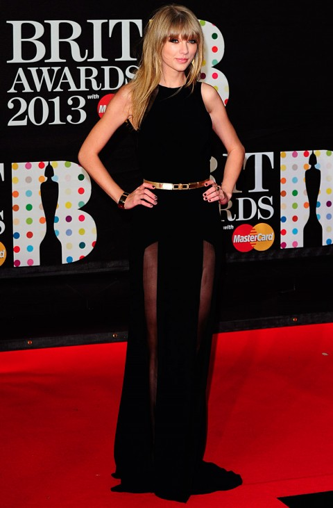 The BRIT Awards 2013 Taylor Swift