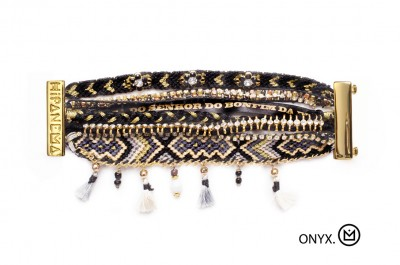 bracelet hipanema onyx