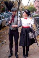 halloween Bert and Mary Poppins