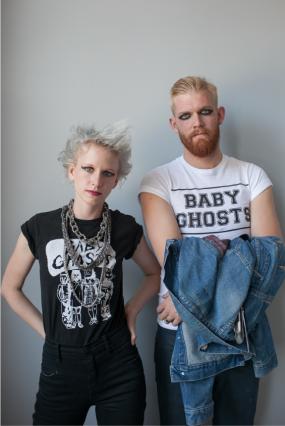 Halloween Punk rockers
