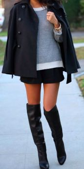 cape with high boots 3