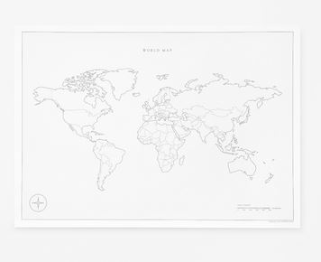 cereal world map
