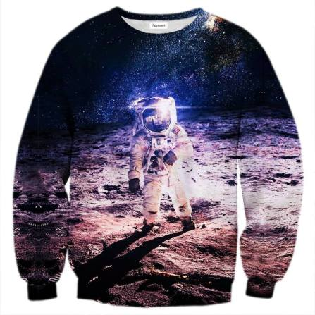 cosmonaut sweater