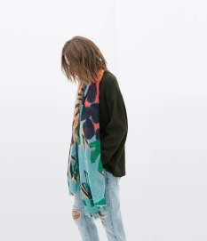 scarf zara