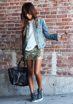 sequin skirt 5