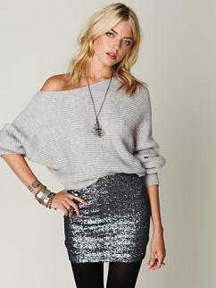 sequin skirt 8