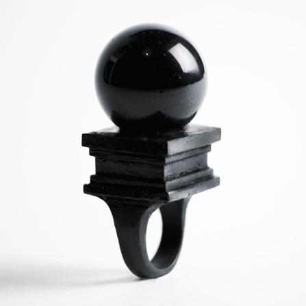 Black Orb ring