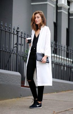 monochrome street style