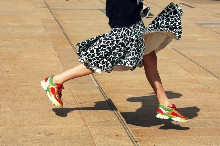 street style sneakers