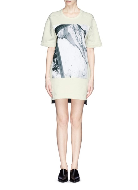 Sweatshirt Dress Helmut Lang