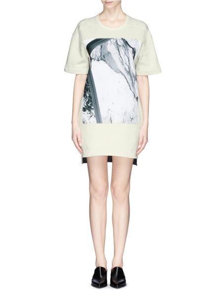 Sweatshirt Dress Helmut Lang