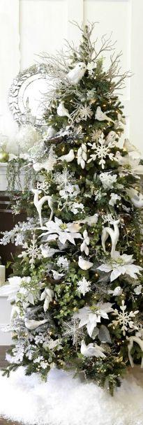 Uni colored Christmas tree