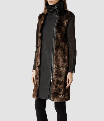 all saints gibson coat
