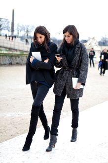 Paris Fashion Week 2012, Valentino, Emmanuelle Alt