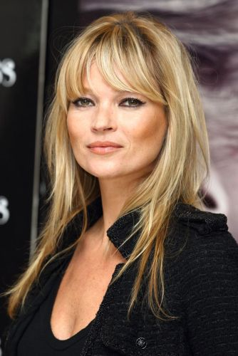 everydayfacts fringes hair kate moss