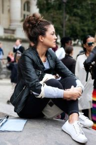 everydayfacts leather biker jacket