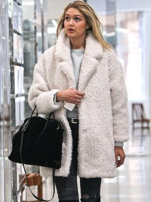 GIGI HADID cozy coat