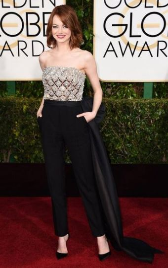 golden globes awards 2015 Emma Stone