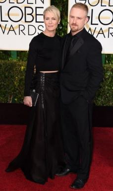 golden globes awards 2015 Robin Wright and Ben Foster