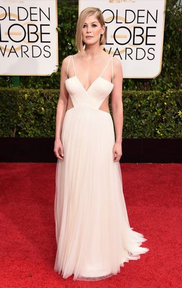 golden globes awards 2015 Rosamund Pike