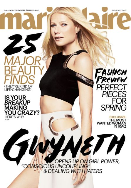 Gwyneth Paltrow Covers Marie Claire Magazine 1