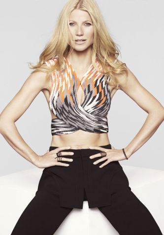 Gwyneth Paltrow Covers Marie Claire Magazine cover