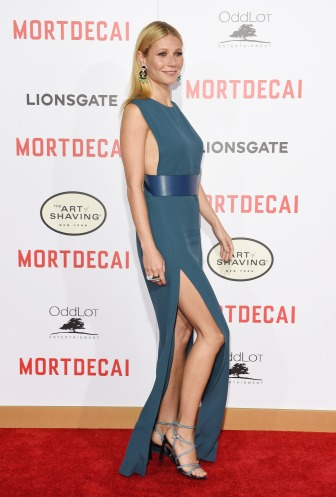everydayfacts gwyneth paltrow mordecai premiere