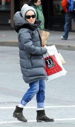 Sarah Jessica Parker winter style