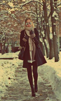 winter coat layers