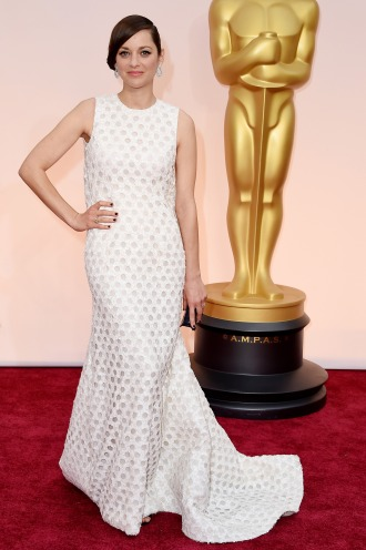 Dresses at the Oscars 2015 Marion Cotillard